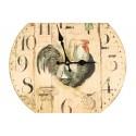 Horloge Ancienne Murale Coq 34cm