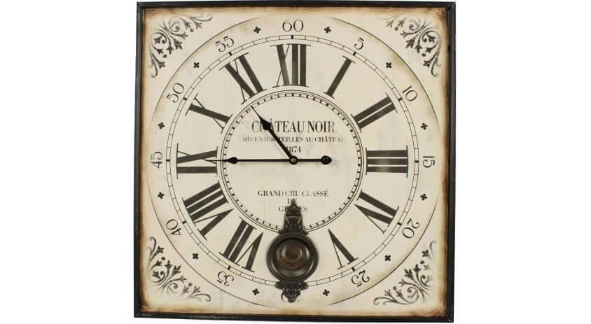 Wall Kitchen Clock Cockerel /'Le Coq Chateau/' Design 34cm