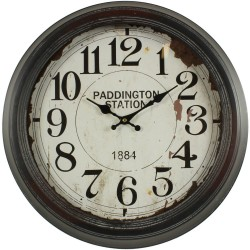 HORLOGE MURALE PADDINGTON STATION 47CM