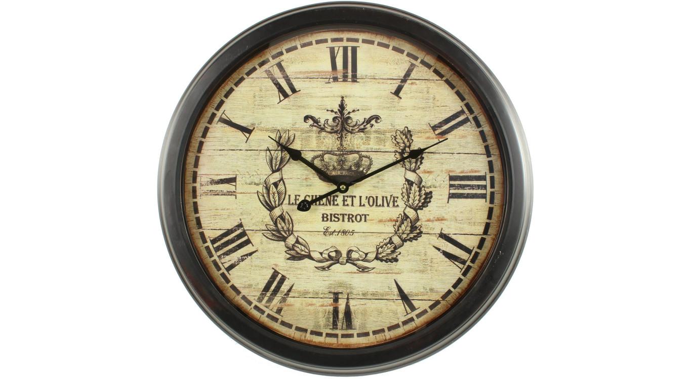 Horloge Ancienne Murale Olives 58cm