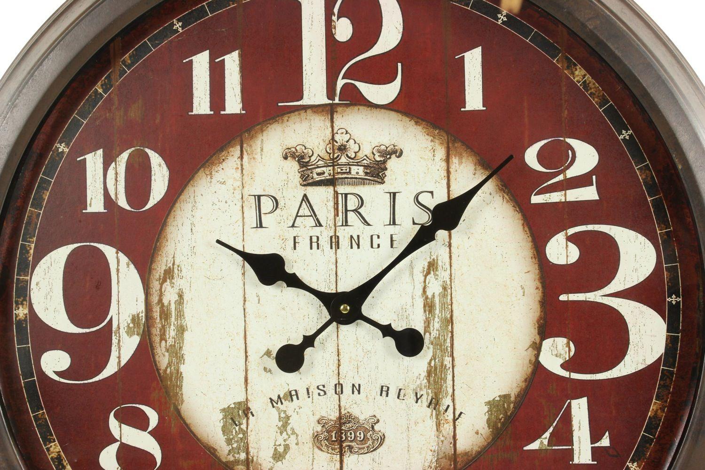 grande horloge ancienne murale paris france 70cm. Black Bedroom Furniture Sets. Home Design Ideas