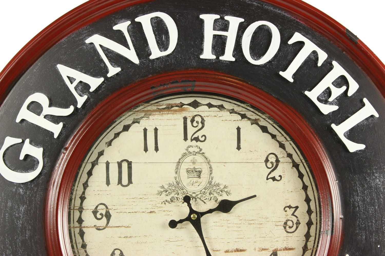 horloge ancienne murale grand h tel charleston 59cm. Black Bedroom Furniture Sets. Home Design Ideas