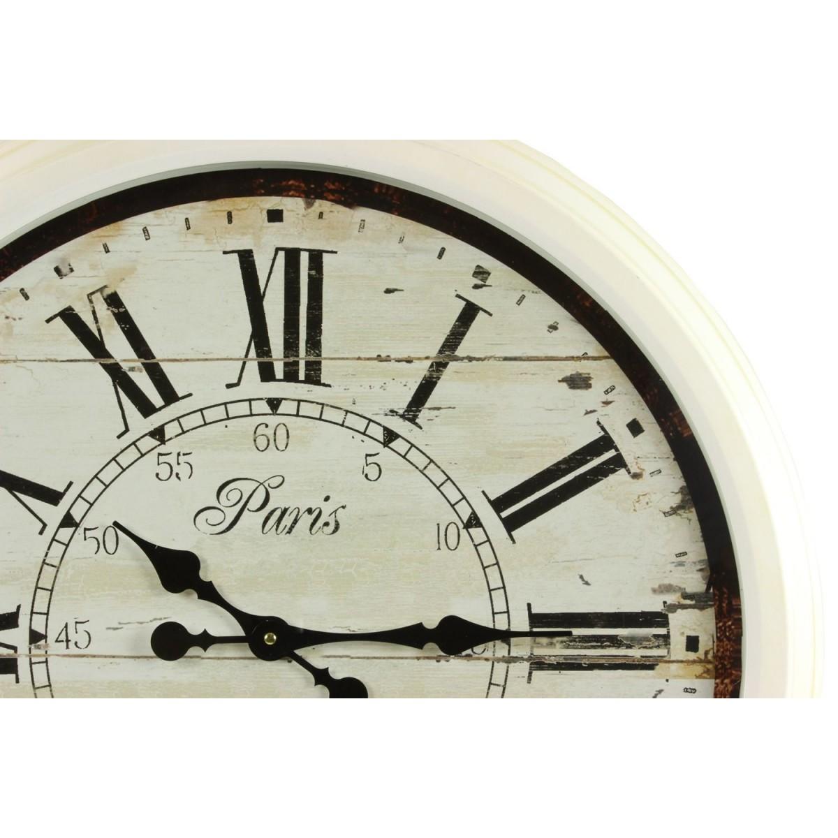 Grande Horloge Ancienne Murale Paris 1807 70cm