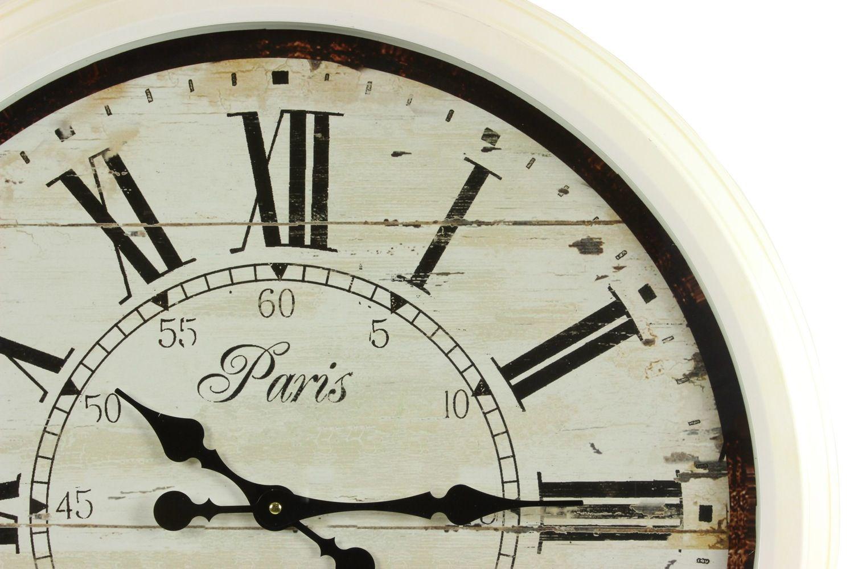 Grosse Horloge Fer Forgé grande horloge ancienne murale paris 1807 70cm