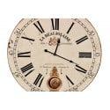 Horloge Ancienne Balancier 58cm