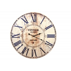 Horloge Ancienne Metal Central Station New York 58cm