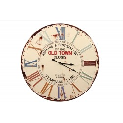 Horloge Ancienne Metal Old...