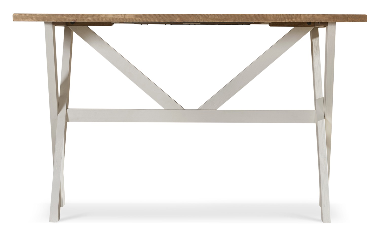 Table Haute Bois Blanc 160x104.5x88.5cm