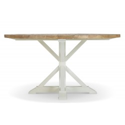 Table Ronde Bois Blanc 150cm