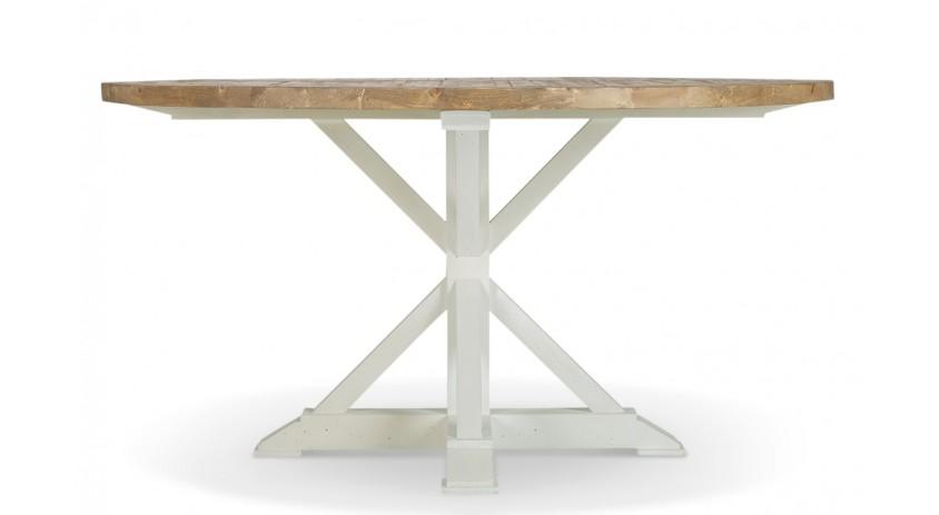 Table Ronde Bois Blanc 150cm