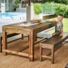 Table Bois 180x90x79cm