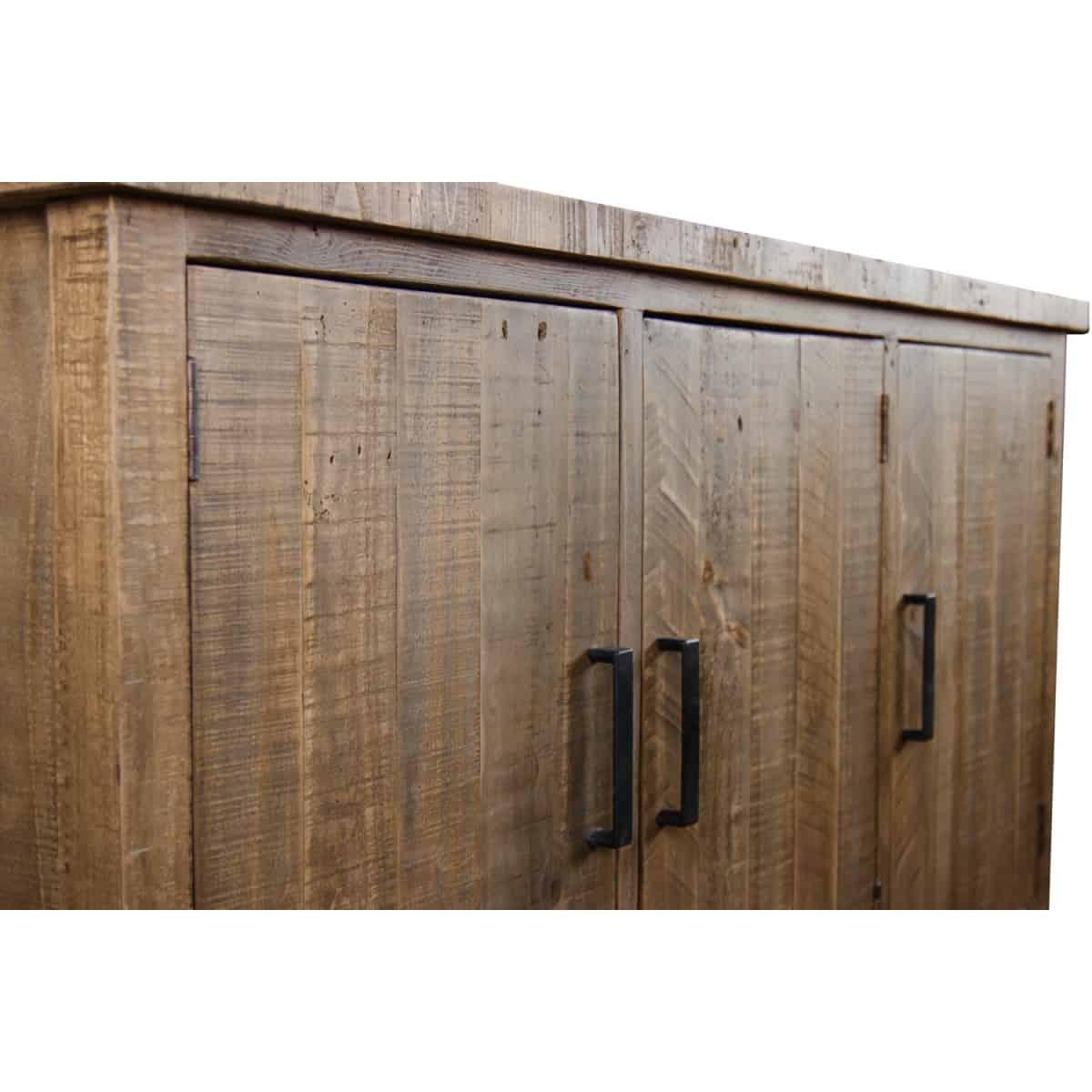 Meuble Bas Rangement Bois 150x45.5x86cm