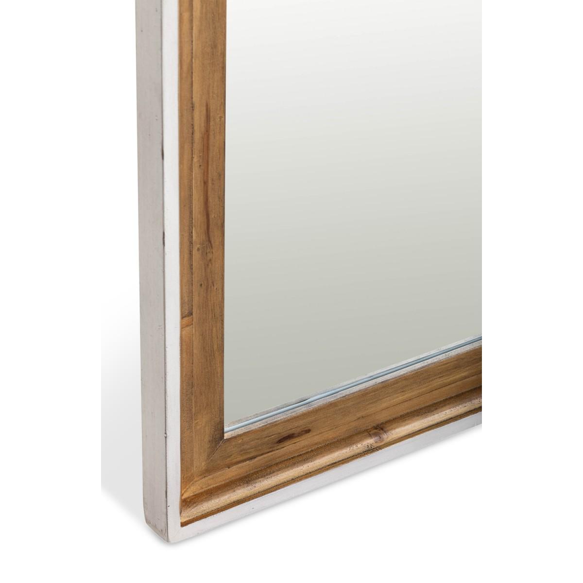 Miroir Bois Blanc 105xx80cm