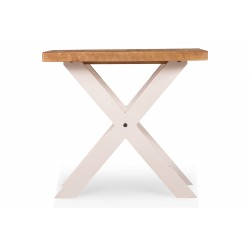 Table de chevet Bois Blanc 60x60x41cm