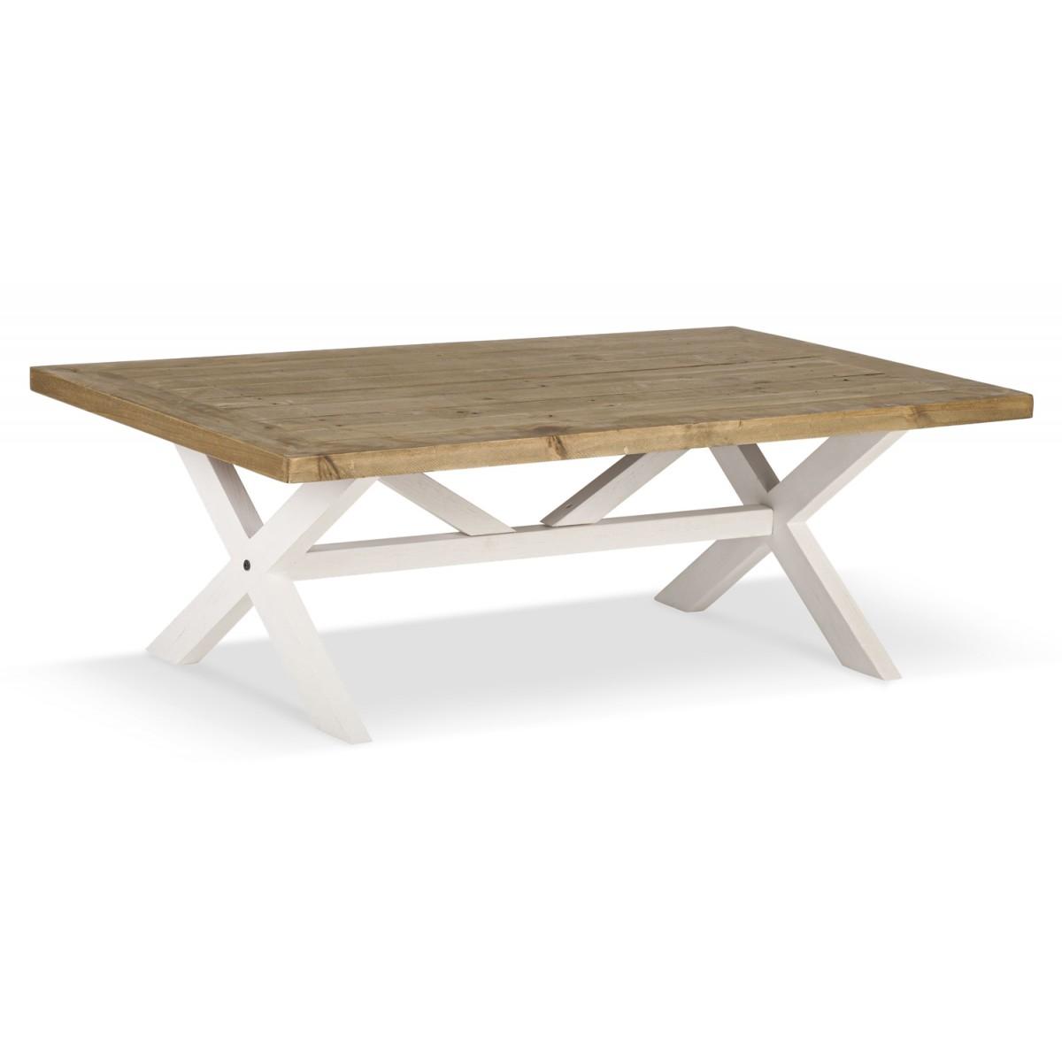 Table à manger Bois Blanc 120x75x41cm