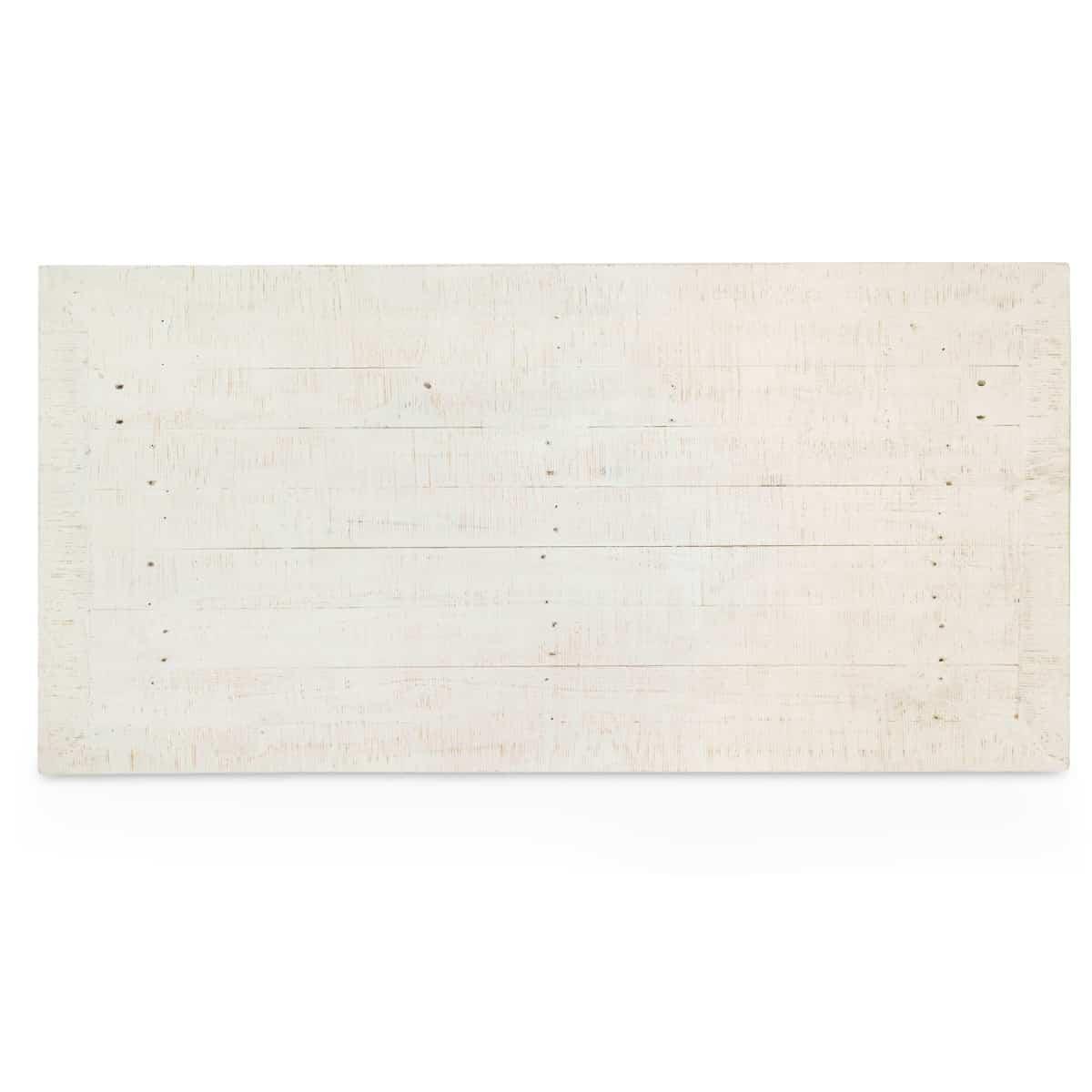 Table basse 3 Tiroirs Bois Blanc 140x70x45cm