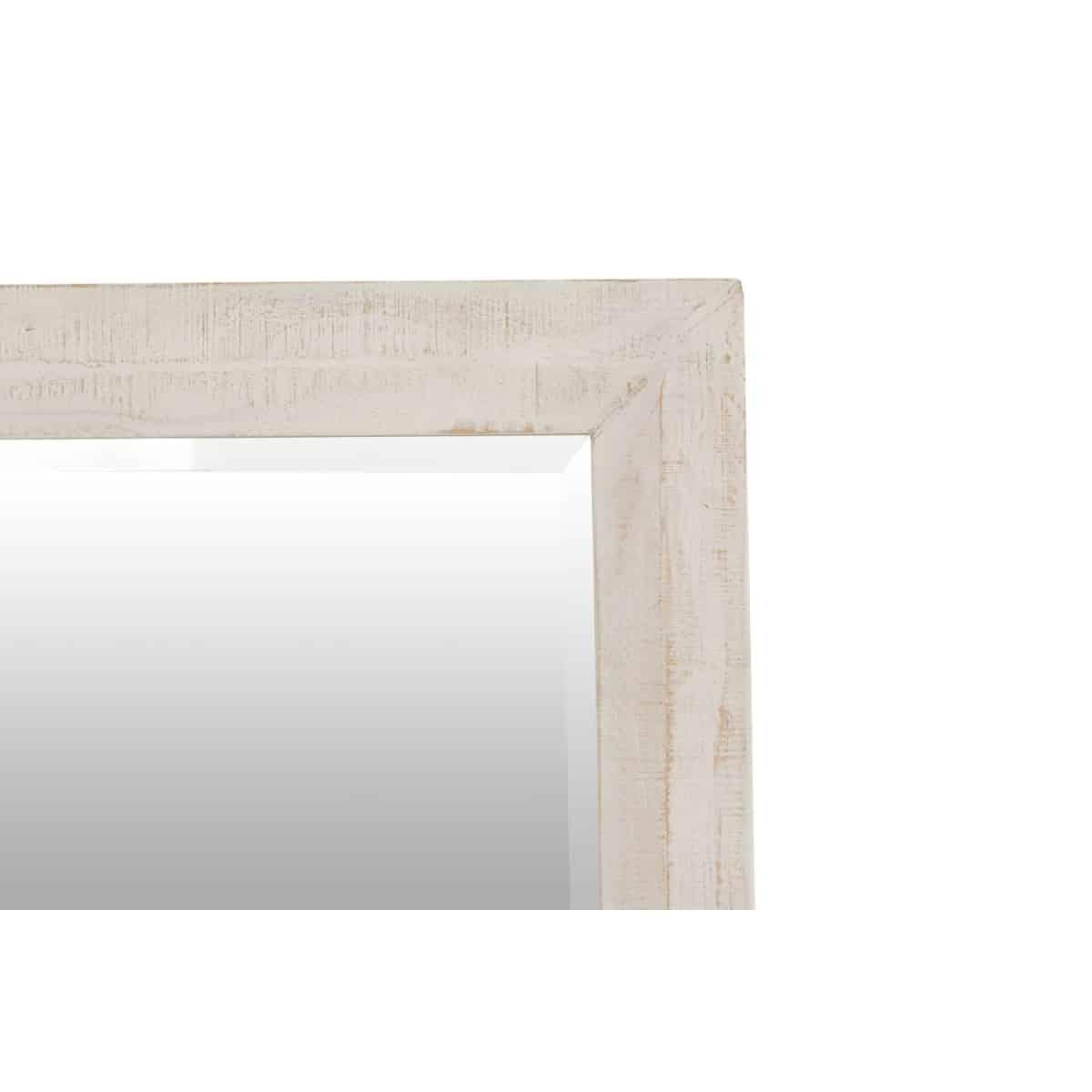 Miroir Bois Blanc 140x100x40cm