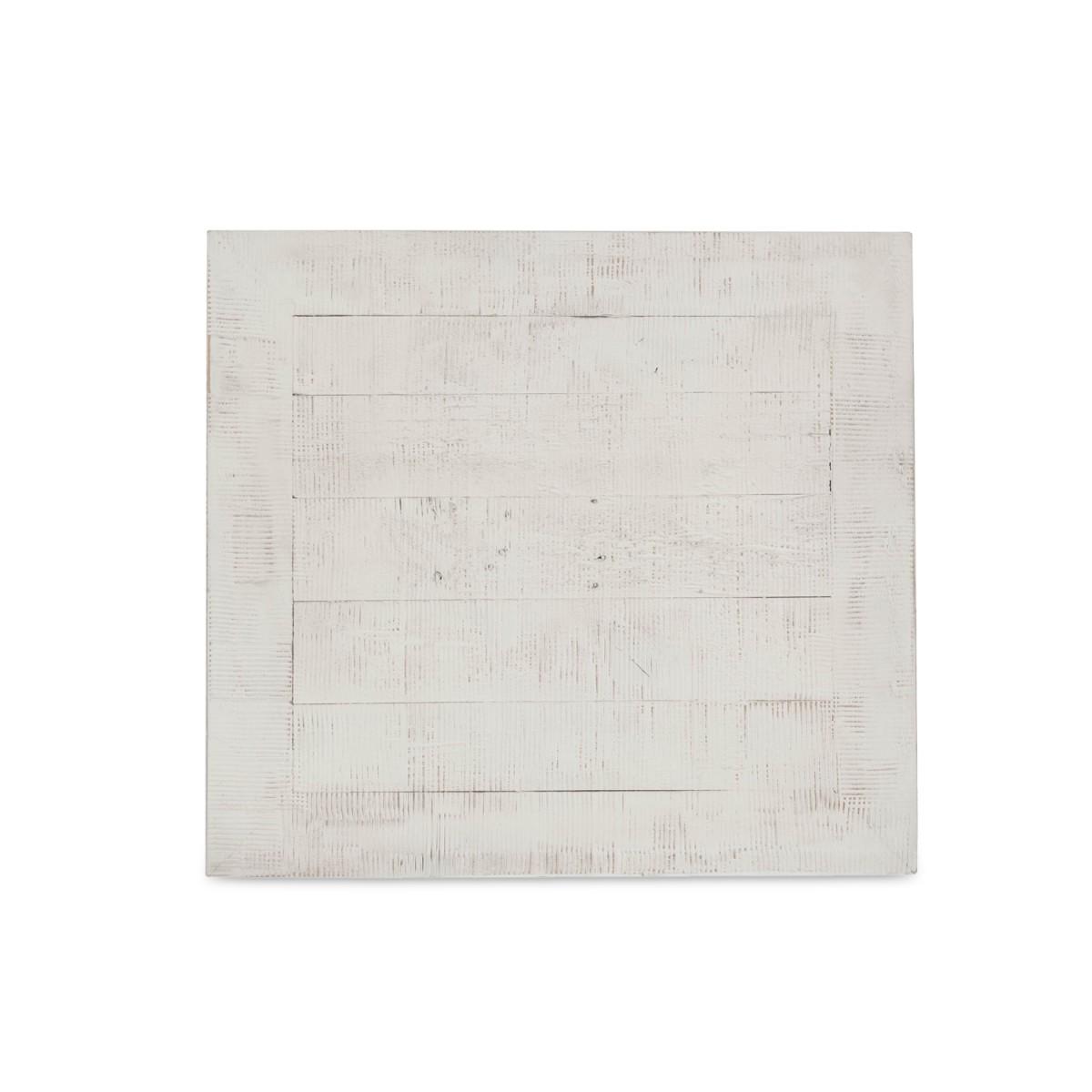 Table de chevet 1 Tiroir Bois Blanc 50x45x60cm