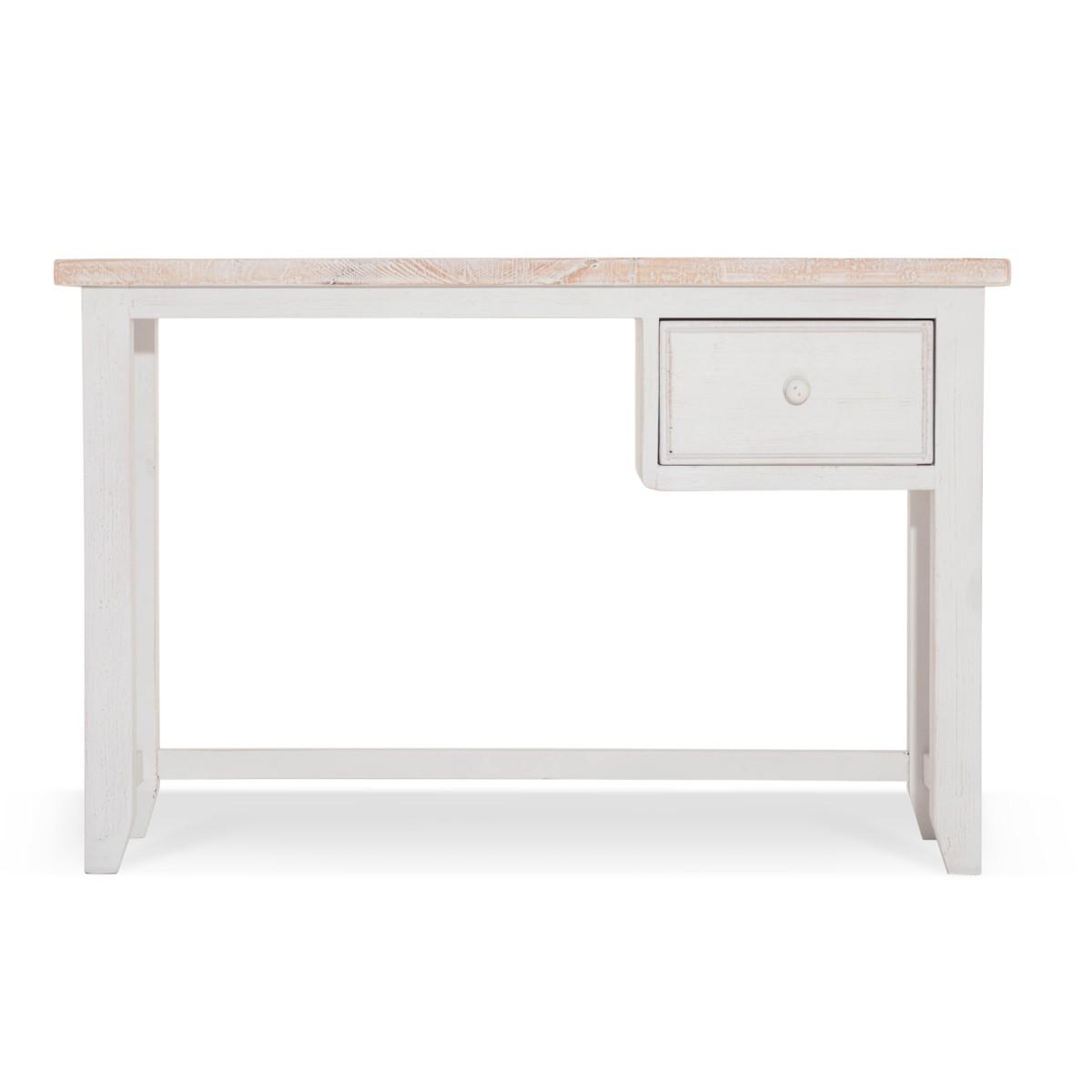 Bureau Bois Blanc 120x50x78cm