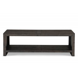 Table basse Bois Marron 140x75x45cm