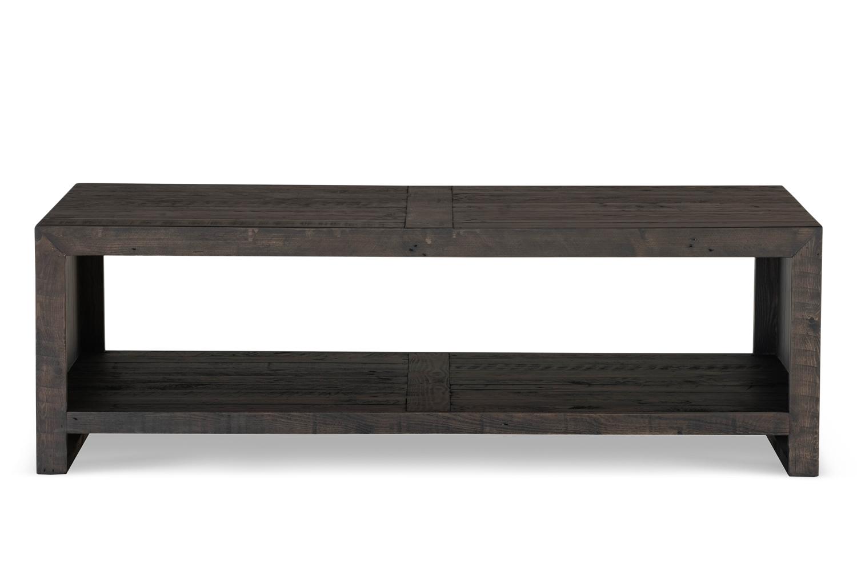 Table basse Bois Marron 140x75x45cm