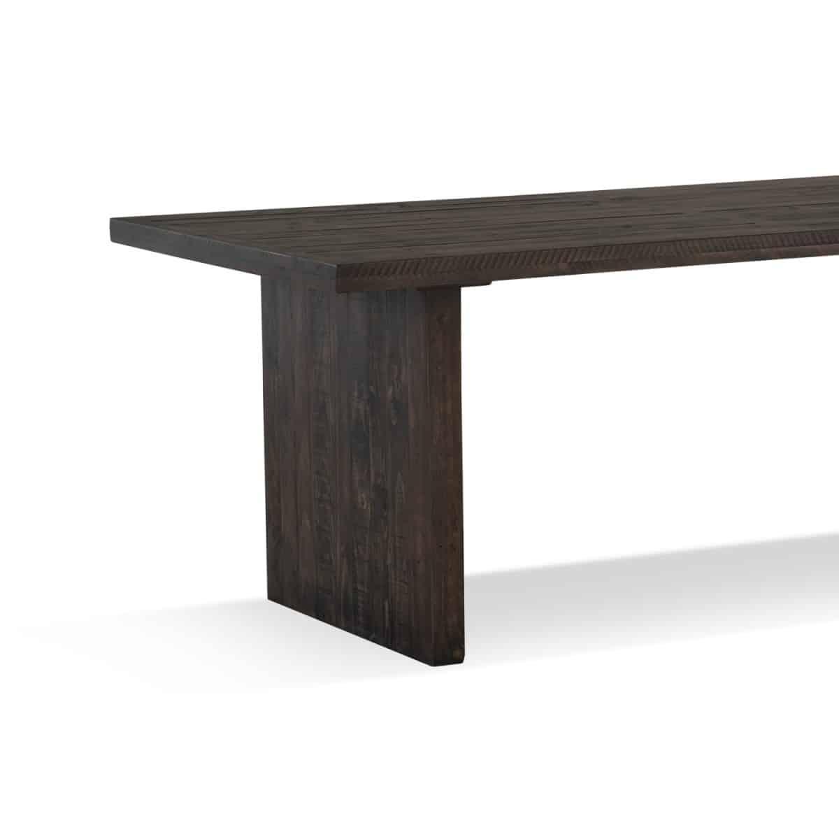 Table à manger Bois Marron 200x100x76cm
