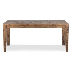 Table à manger Bois Marron 180x90x78.5cm