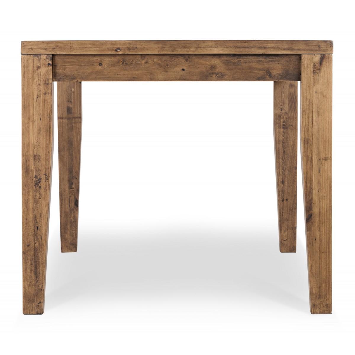 Table à manger Bois Marron 180x90x78.5cm