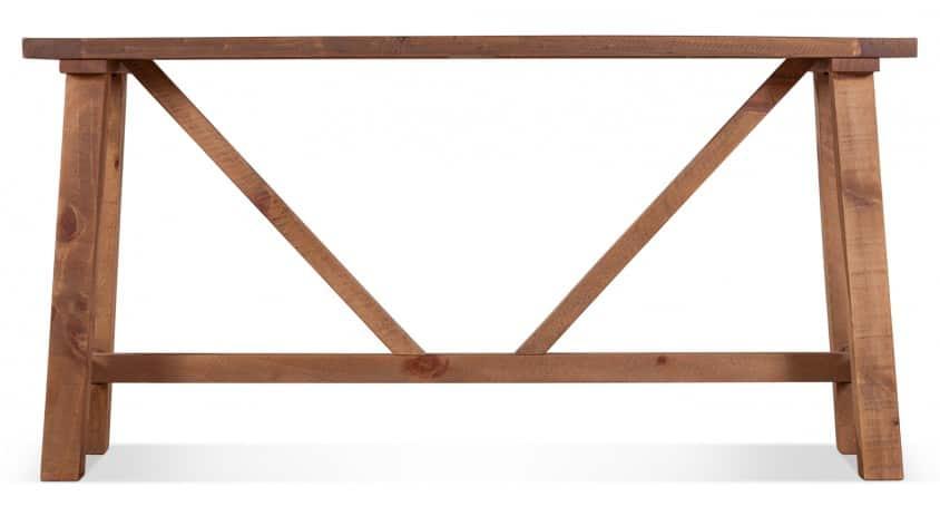 Console Bois Marron 146.5x40x75cm