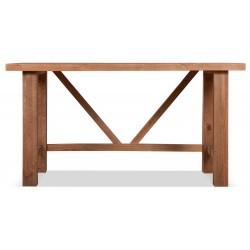 Bureau Bois Marron 150x75x78.5cm