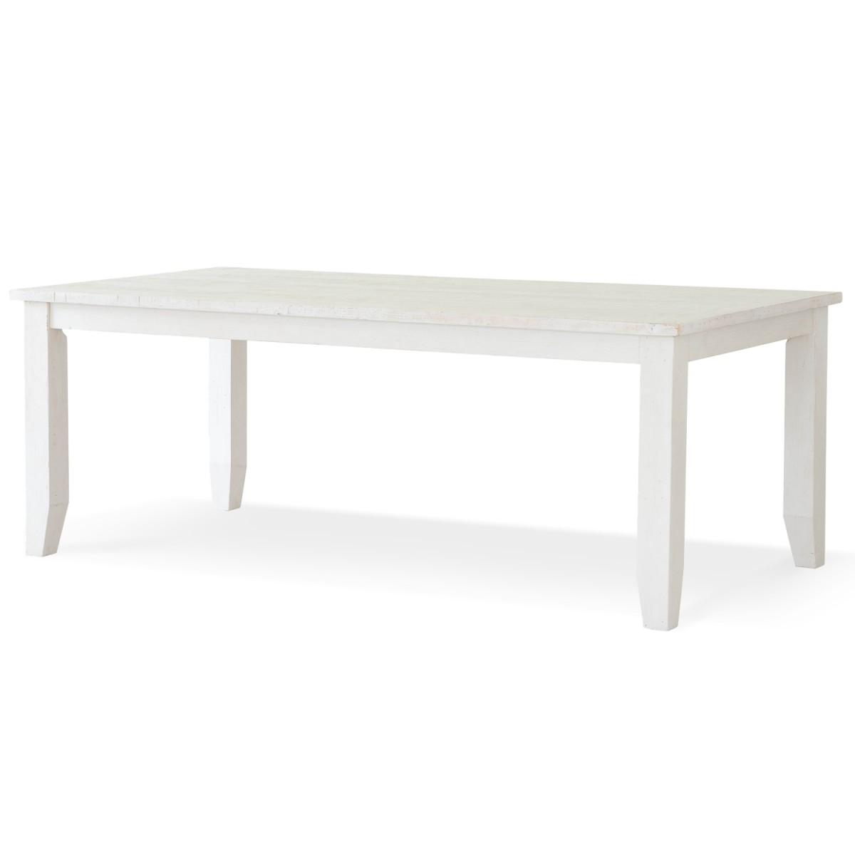 Table à manger Bois Blanc 210x105x78cm