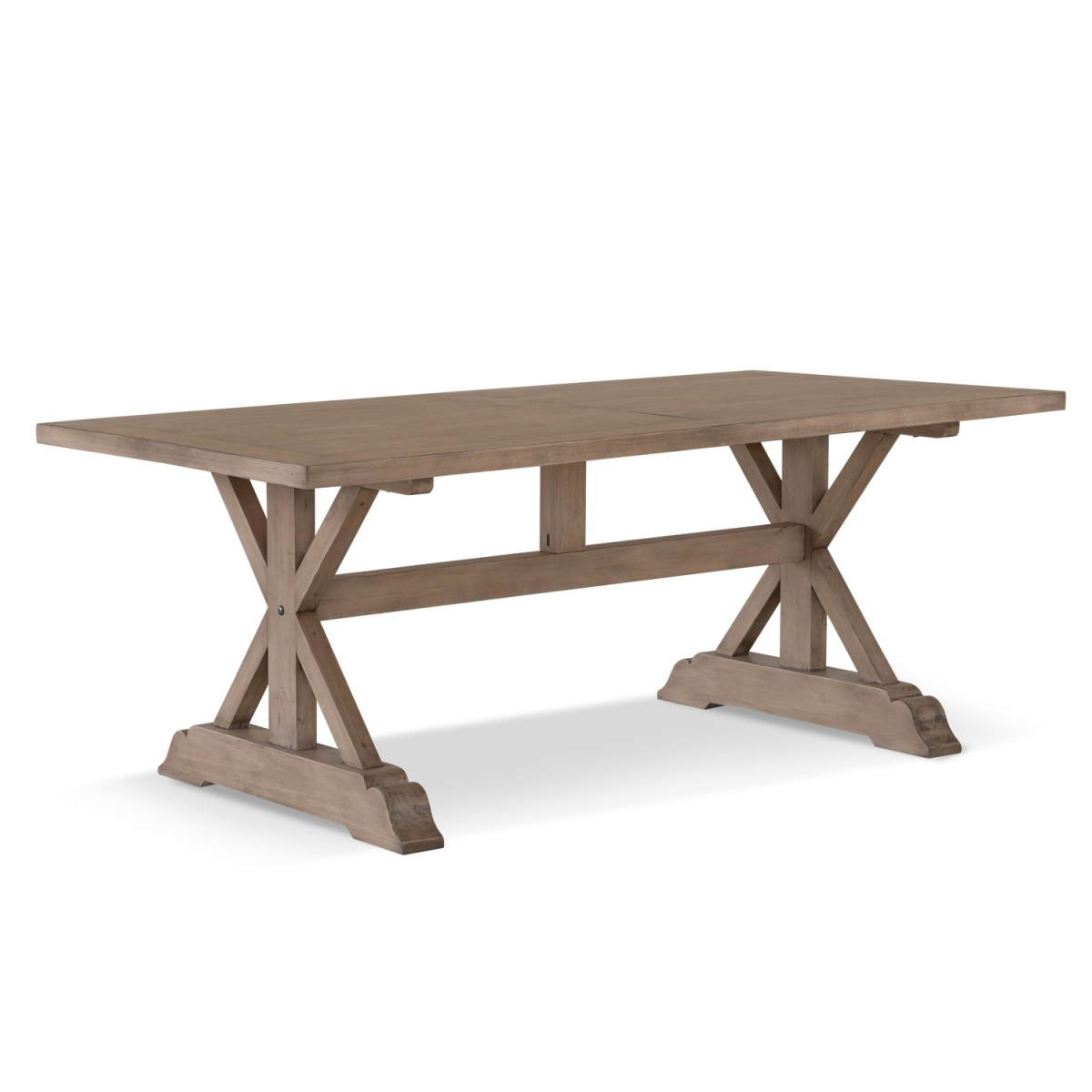 Table à manger Bois Marron 200x100x76cm