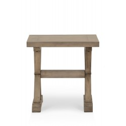 Table de chevet Bois Marron 55x55x55cm