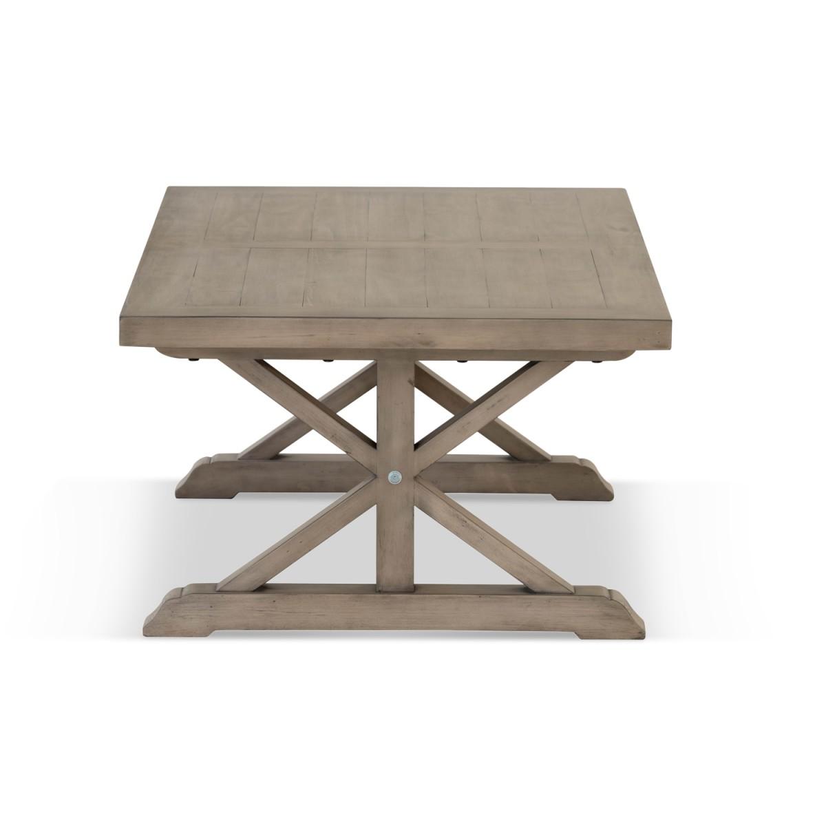 Table basse Bois Marron 130x70x45cm