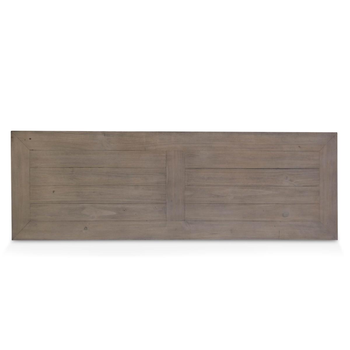 Console Bois Marron 140x45x76cm