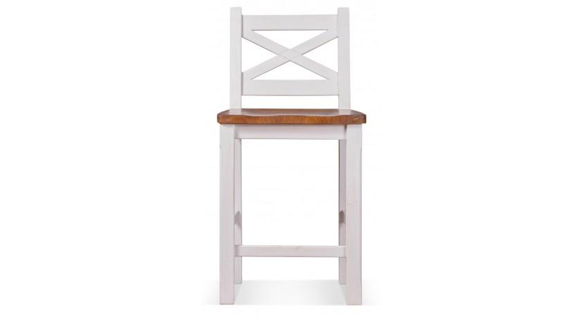 Chaise haute Bois Blanc 47x46.5x95cm