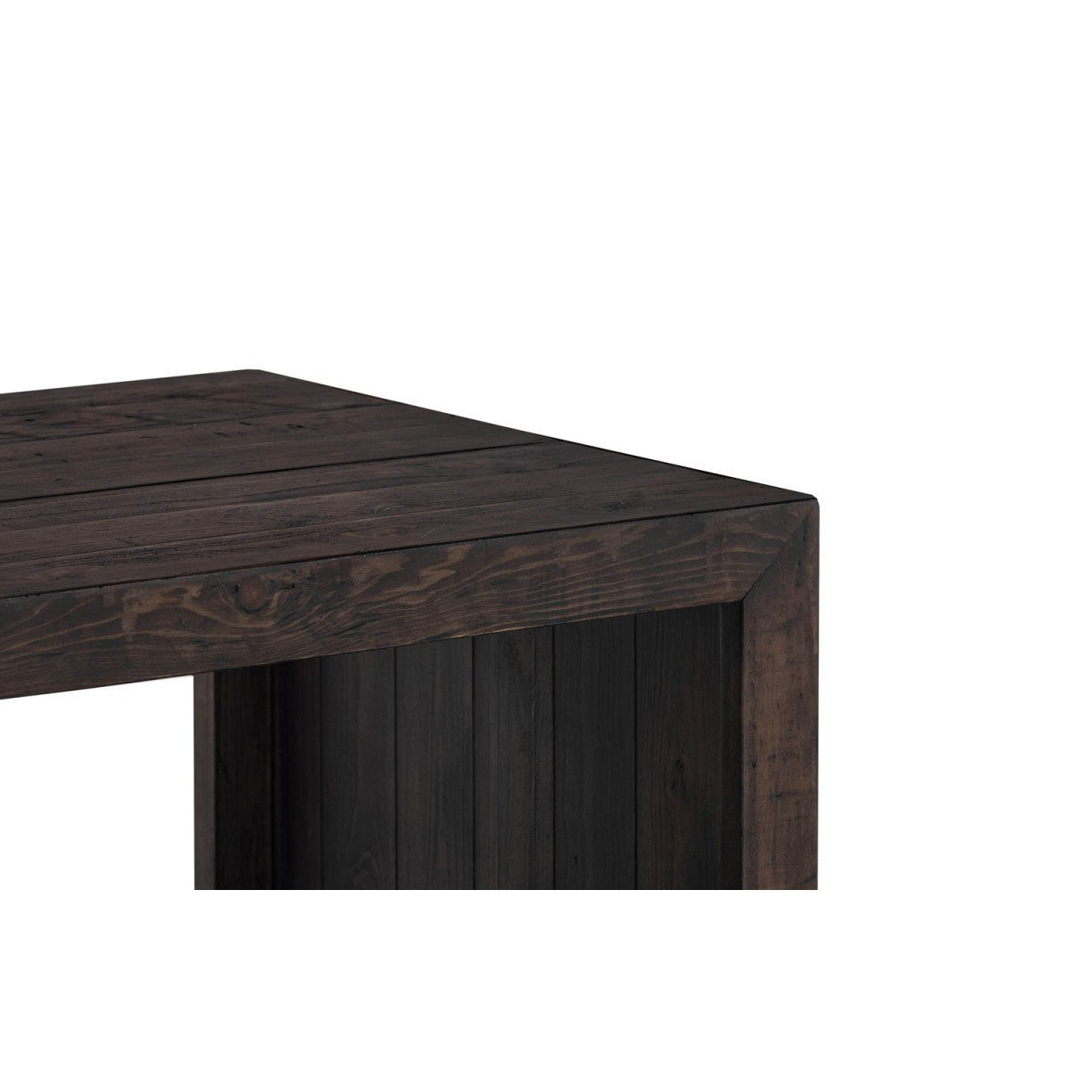 Table de chevet Bois Marron 60x60x55cm