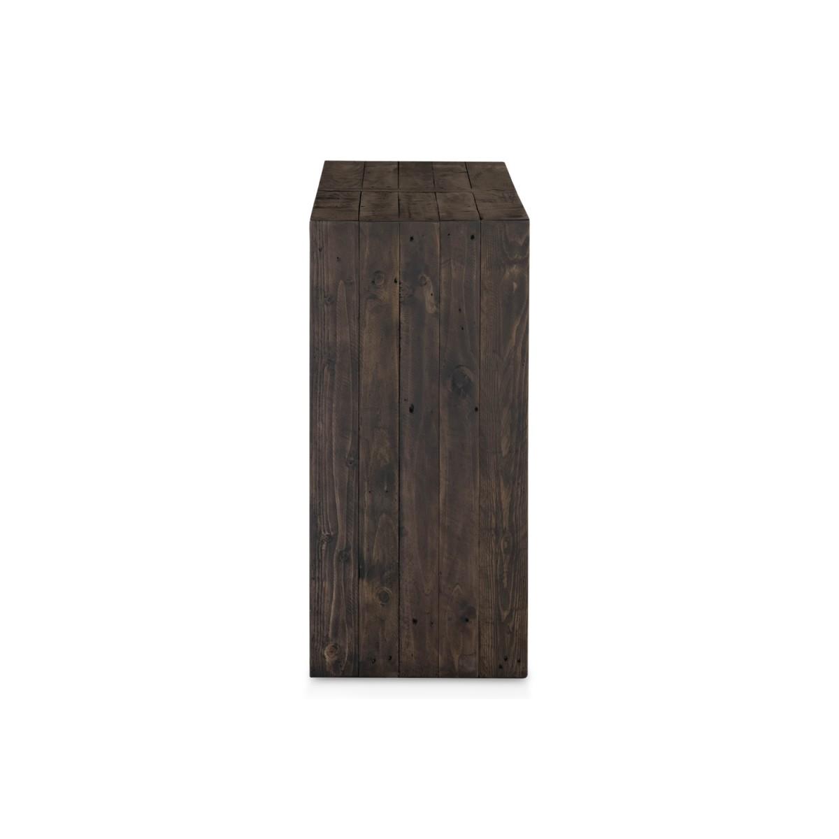 Console Bois Marron 150x38x80cm