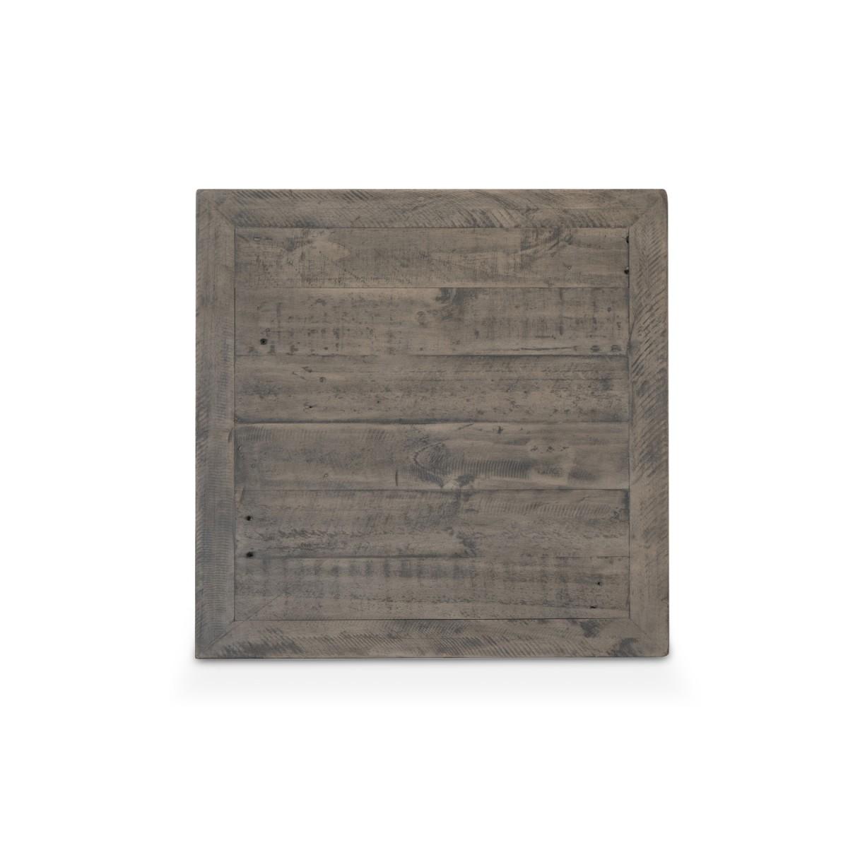 Table de chevet Bois Marron 60x60x50cm