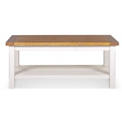 Table basse Bois Blanc 120x60x50cm