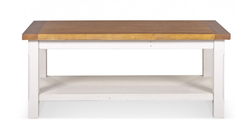 Table basse Bois Blanc 120x60x50cm