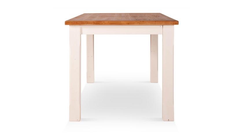 Table haute Bois Blanc 180x90x81cm