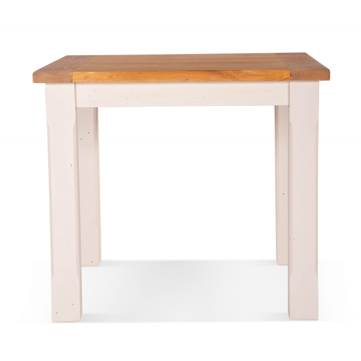 Table à manger Bois Blanc 90x90x77.5cm
