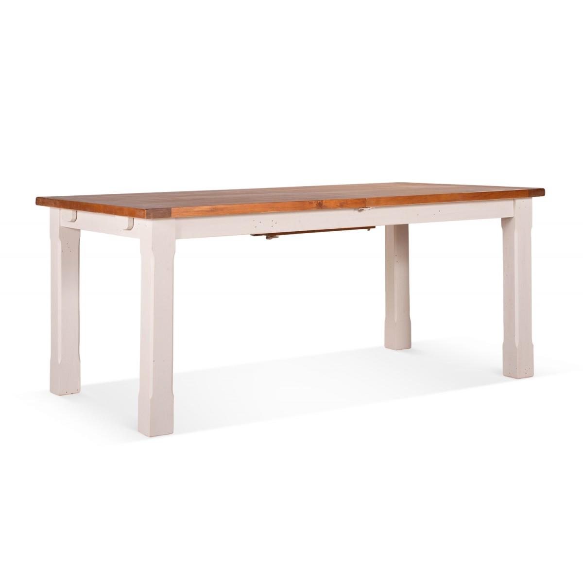 Table à manger Bois Blanc 230x100x78cm