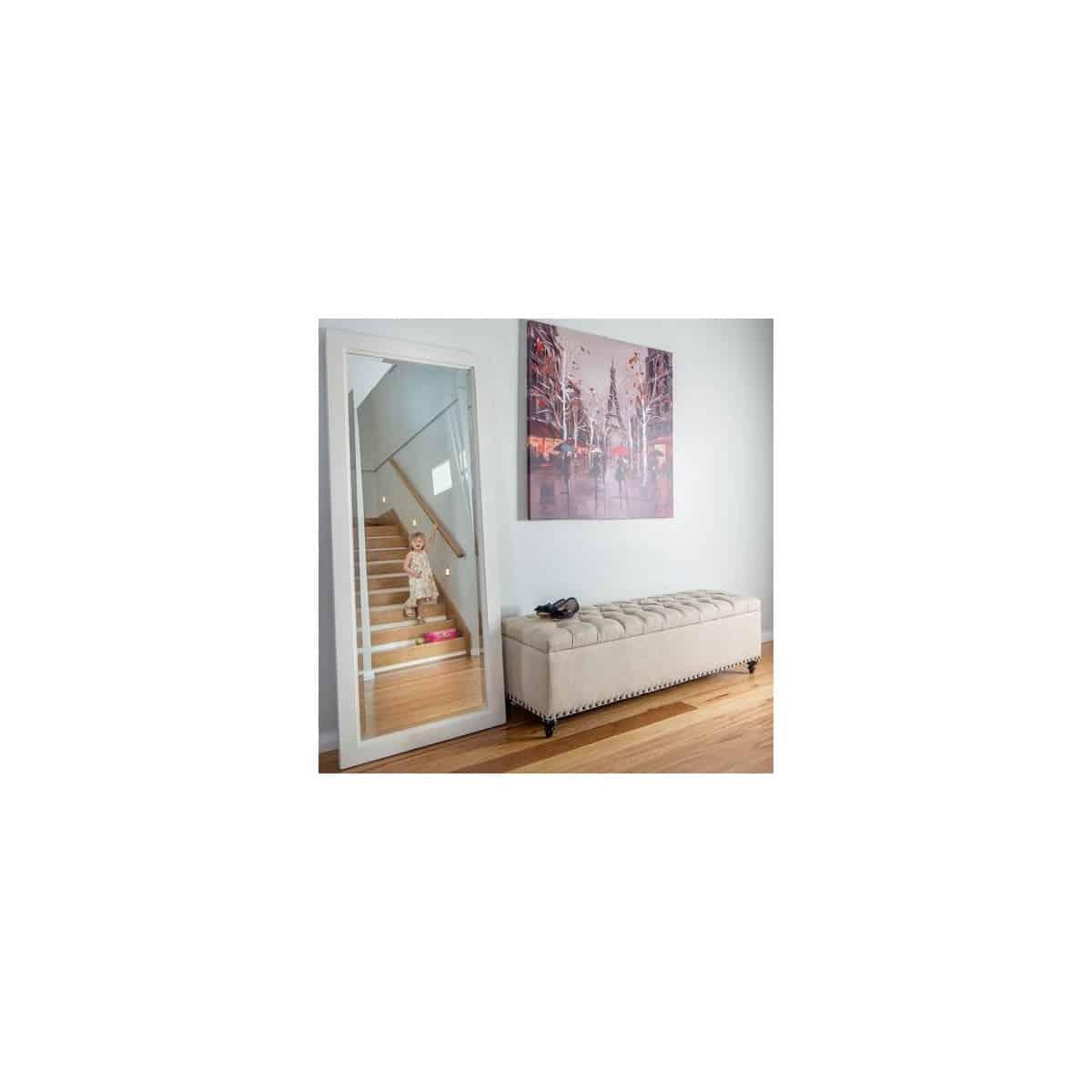 Miroir Bois Blanc 70xx170cm