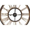Grande Horloge Ancienne Fer Forge Marron 60x3x60cm