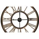 Grande Horloge Ancienne Fer Forge Marron 80x4x80cm