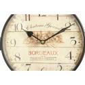 HORLOGE DE GARE ANCIENNE DOUBLE FACE CHATEAU GRAND BORDEAUX 24cm