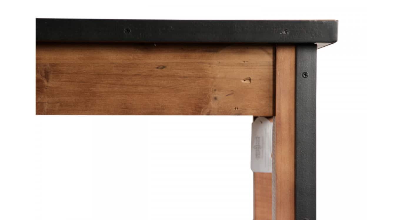 Console Bois Marron 160x48,5x95,5cm