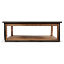 Table basse Bois Marron 120x80x43cm